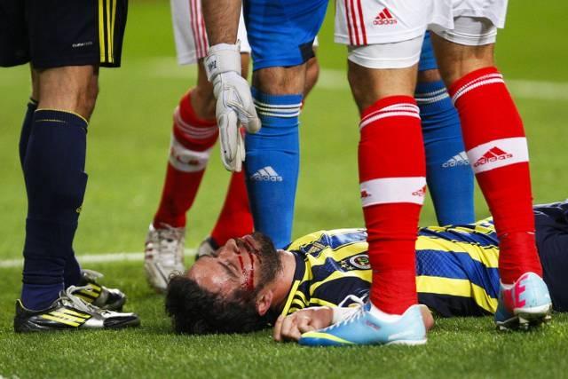 Benfica: 3 Fenerbahçe: 1 Maçtan Kareler