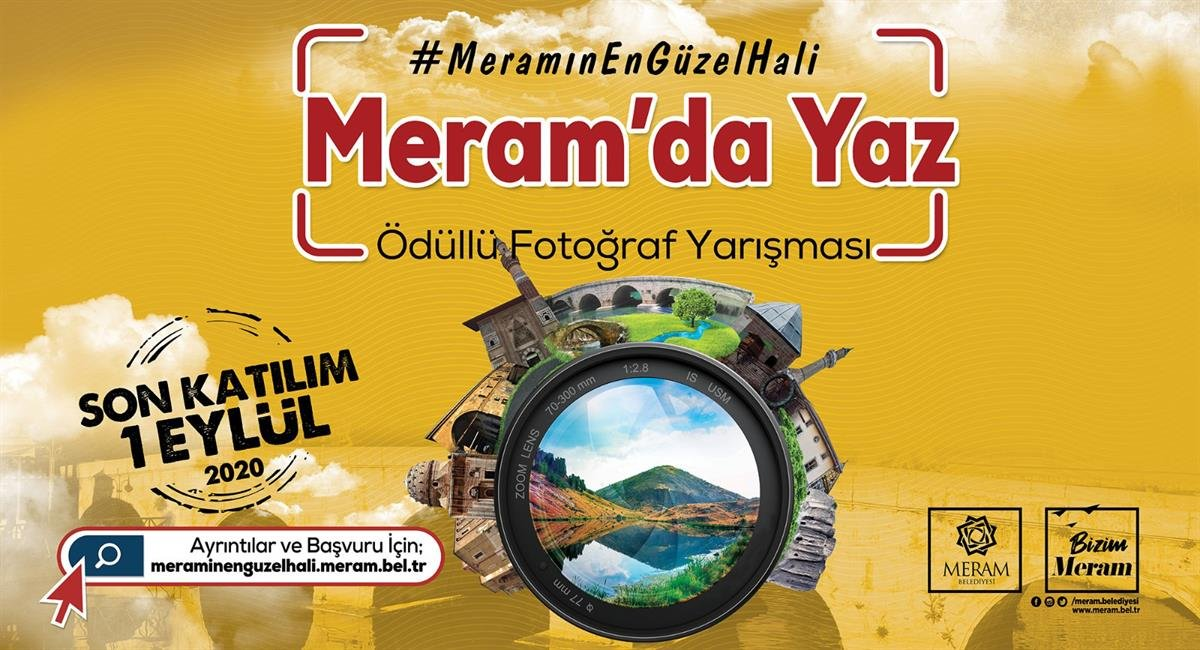 'MERAM'DA YAZ' ÖDÜLLÜ FOTOĞRAF YARIŞMASI BAŞLADI ,Son Dakika