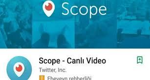 Scope Eski Adıyla Periscope kapanıyor mu?