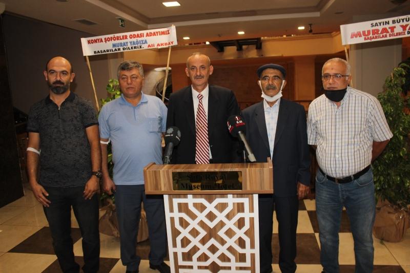 Murat Yağız, Şoförler Odası'na talip oldu
