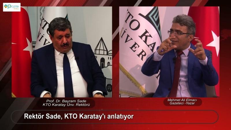 Prof. Dr. Bayram Sade Pozitif Bakış'a konuk oldu
